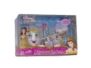 Disney Princess Enchanted Tea Cups with Belle Enchanted Playground Play Set