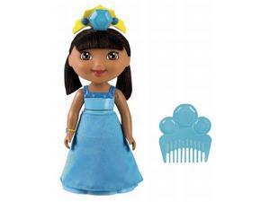 Fisher Price Blue Crystal Dora The Explorer Doll Spin & Sparkle