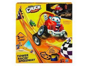 Tonka Chuck & Friends Tower Racin Speedway 3' Long with Die Cast Truck & Sound
