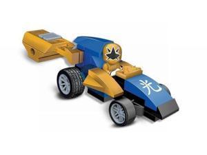 Mega Bloks Power Rangers Super Samirai Gold Rocket Race Car Building Set 5770