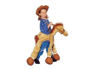 Seasons Boys & Girls Plush Brown Ride A Pony Costume