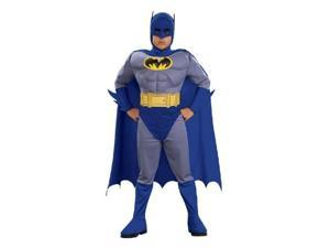 DC Comics Toddler Boys Batman Muscle Costume