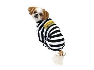 Homework Eater Dog Prisoner Costume Write the Crime Pet Pajamas