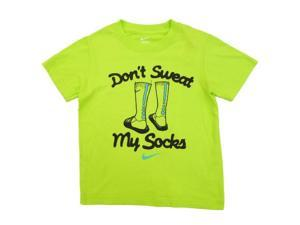 Nike Toddler & Boys Green Dont Sweat My Socks T-Shirt