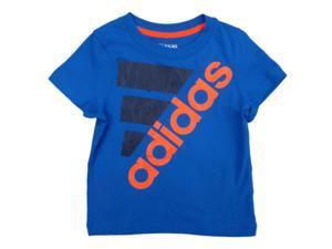 Adidas Toddler Boys Blue Athletic T-Shirt