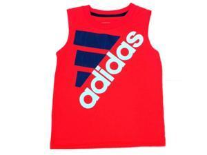 Adidas Toddler & Little Boys Red Sleeveless Athletic Shirt