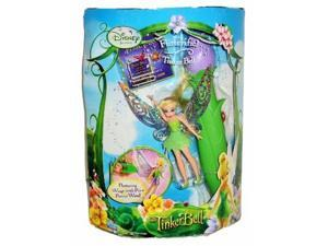 Disney Fairies Flitterific Tinkerbell Doll with Tink Fluttering Wings