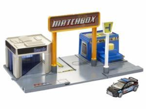 Matchbox Adventure Links Police Headquarters Playset with Drive Thru Bank