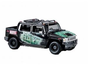 Marvel Incredible Hulk Hummer H2 Metal Diecast Car 1:27