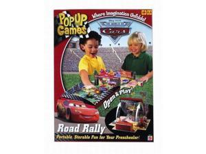 Disney Cars Pop Up Road Rally Game Portable Open & Play