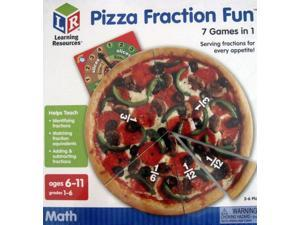 Learning Resources Pizza Fraction Fun Game 7 Games in 1 Math