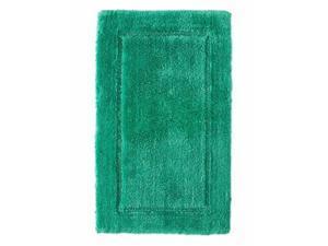 Threshold Plush Batik Green Botanic Bath Rug Skid Resist Throw Mat 20x32
