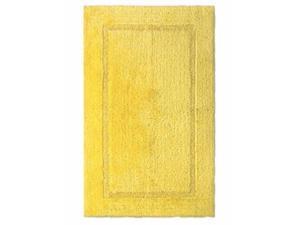 Threshold Plush Beehive Yellow Botanic Bath Rug Skid Resist Throw Mat 20x32