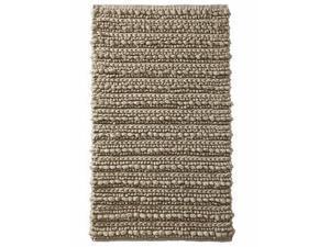 Threshold Lumpy Textured Cotton Beige Bath Rug Throw Mat 20x34