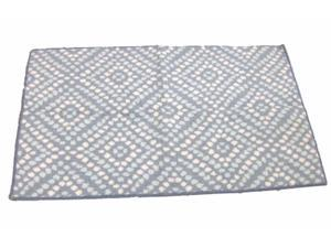 Threshold Blue & Gray Cora Dot Skid Resistant Accent Throw Area Rug 30x48