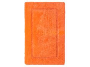 Threshold Plush Orange Truffle Botanic Bath Rug Skid Resist Throw Mat 23x37