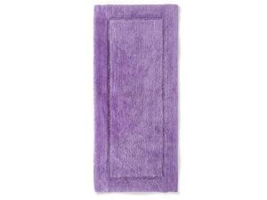 Threshold Plush French Lilac Purple Botanic Bath Rug Skid Resist Throw Mat 24x54
