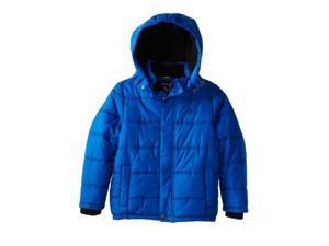 Calvin Klein Jeans Little Boys Blue Puffer Jacket Winter Ski Coat Large