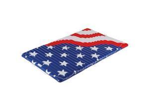 Inflatable Patriotic American Flag Water Mat Air Mattress Pool Float