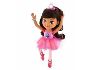 Fisher-Price Nickelodeon Dora and Friends Sparkle & Spin Ballerina Dora Doll