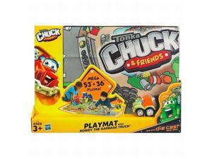 "Tonka Chuck & Friends Mega 53"" by 36"" Playmat with Rowdy The Garbage Truck"