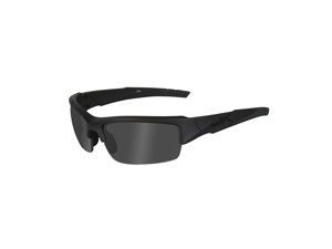 Wiley X Valor Changeable Polarized Smoke Grey/Matte Black Frame Sunglasses