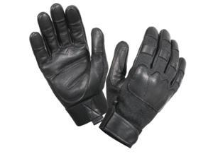 Cut and Flame Resistant Tactical Gloves in Black, Medium
