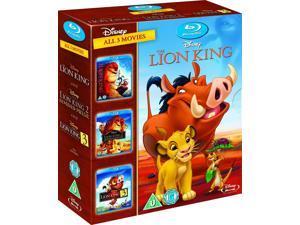 The Lion King Trilogy 1-3 Blu-ray Box Set [Region-Free]