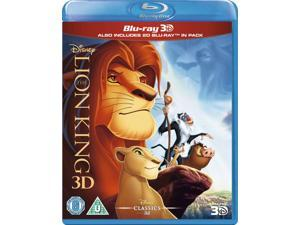 The Lion King 3D Blu-ray [Region-Free]