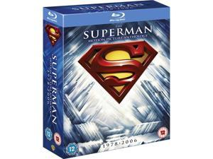 The Superman Motion Picture Anthology Blu-ray Box Set [Region-Free]