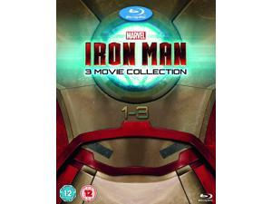 Iron Man 1-3 Complete Collection Blu-ray [Region-Free]