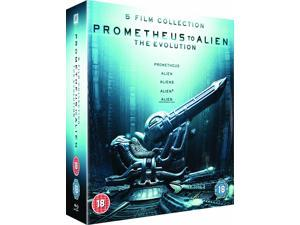 Prometheus to Alien: The Evolution Blu-ray [Region-Free]
