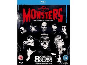 Universal Monsters: The Essential Collection Blu-ray [Region-Free]