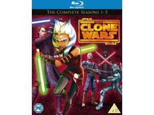 Star Wars: The Clone Wars - The Complete Seasons 1-5 Blu-ray [Region-Free]