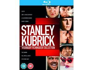 Stanley Kubrick: Visionary Filmmaker Collection Blu-ray [Region-Free]