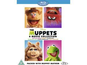 The Muppets Bumper Boxset 6 Movie Collection Blu-ray [Region-Free]