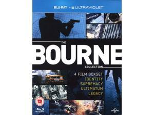 The Bourne Collection: 4 Film Boxset Blu-ray [Region-Free]