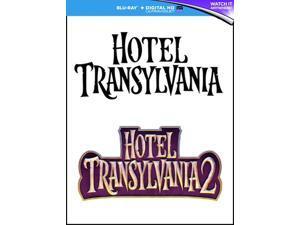 Hotel Transylvania 1-2 Blu-ray [Region-Free]