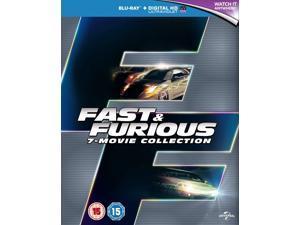 Fast & Furious 1-7 Blu-ray [Region-Free]