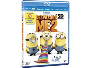 Despicable Me 2 3D Blu-ray [Region-Free]