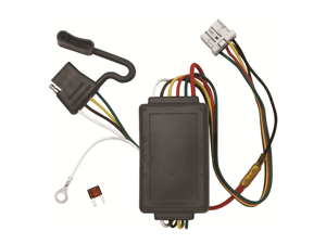 Tow Ready 118438 T-One Connector Assembly With Circuit Protected Modulite Module, 3.98 x 2.88 x 8.88 in.