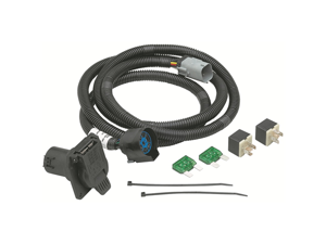20131 Tow Ready 4-Flat (OEM) to 7 Way Connector Assembly 7 ft.