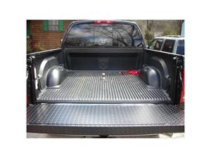 4137B Dee Zee Black Aluminum Tailgate Cover Ford Super Duty 1999-2007