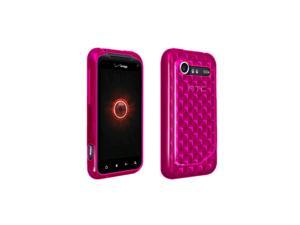 OEM Verizon High Gloss Silicone Case for HTC DROID Incredible 2 6350 (Pink) (Bulk Packaging)