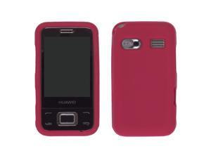Huawei M750 Silicone Gel Skin Case  - Red