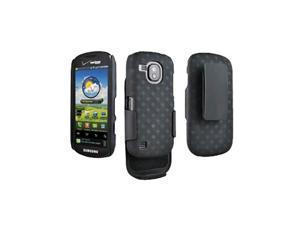 OEM Verizon Samsung Continuum Galaxy S SCH-i400 Shell/Holster Combo (Black) (Bulk Packaging)