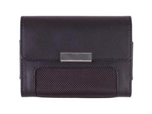 Wireless Solutions Universal Fitted Horizontal Downtown Leather Pouch for X-Large Devices (Black)