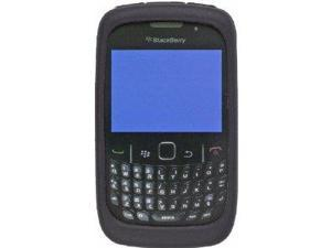 Silicone Gel Case for BlackBerry 8520, 8530, 9300, 9330 - Black
