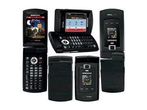 Samsung Alias SCH-U740 Replica Dummy Phone / Toy Phone (Dark Gray) (Bulk Packaging)