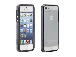 Case-Mate iPhone 5/5S Naked Tough Clear w/Black Bumper